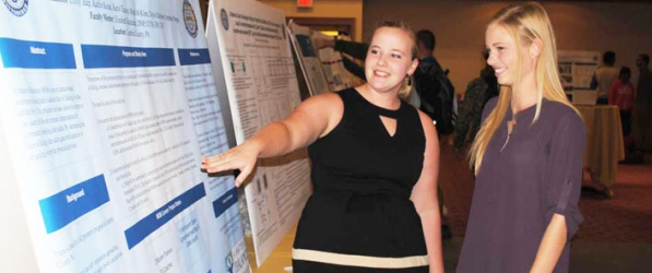 Fall Into Research showcases numerous projects and presentations.