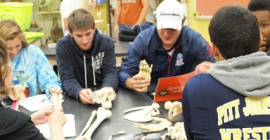 Natural Sciences students at Pitt-Johnstown