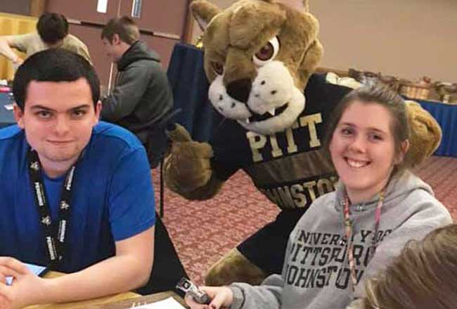 Pitt-Johnstown thanks you for your generous donation