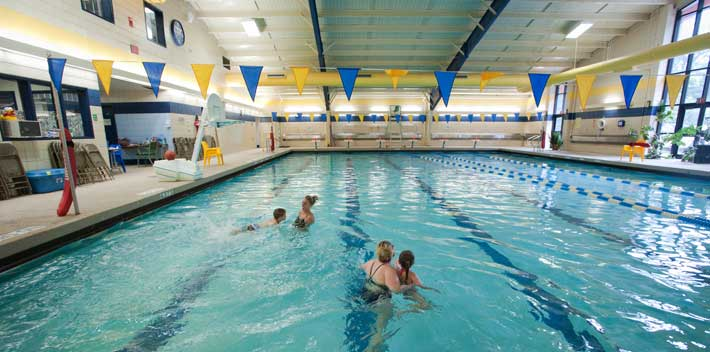 Zamias Aquatic Center on the Pitt-Johnstown campus
